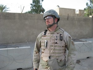 Dr. Duncan's brother in law in Iraq